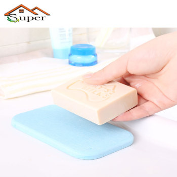 Bathroom Accessories Diatomite Soapdispenser Mat