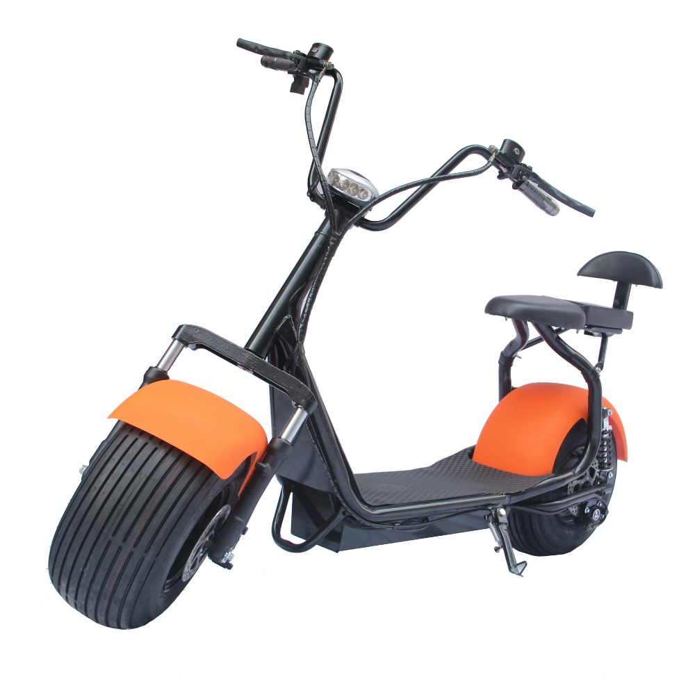 Citycoco - Type Sc Ooter- off Road,Adults off Road Electric City Scooter/Motorcycle with Big Wheels