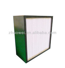 Defense Industry Filtration Deep Pleat Hepa Filter