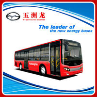 LHD 12m Automatic Transmission CNG City Bus
