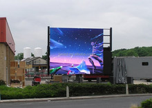 solar powered message led board p10 led display screen