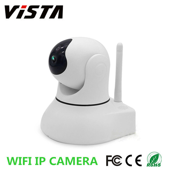 Cloud 720p 12v Home Guard Wifi Network P2P Wireless Hi3518 IR Ip Baby Camera with 64G