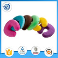 Custom u shape memory foam travel neck pillow