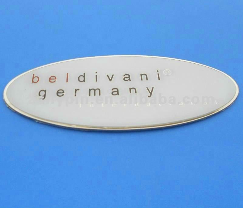custom metal logo car emblems and names