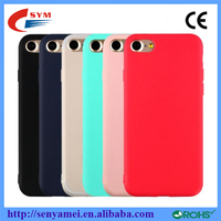 cheap price colorful strong matte tpu case for iphone 7 7 plus