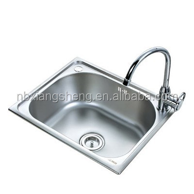 Rotating faucet shell shaped bathroom sink Stainless Steel Sink hand wash sink prices
