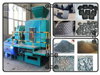 Iron ore briquette making machine