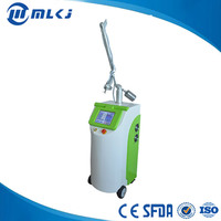 CE approved 30w rf tube scars removal fractional laser co2 for skin resurfacing