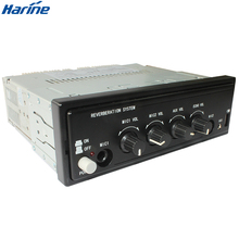 Bus Car built-in Amplifier with wireless microphone function