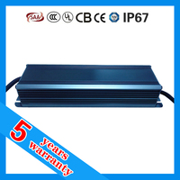5 years warranty CE ROHS TUV SAA ETL approved 24vdc 75 watt dc 24 volt waterproof LED driver IP67 24V 75W