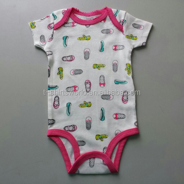 Infant And Toddler Clothes Baby Rompers Bodysuits One Piece China Factory