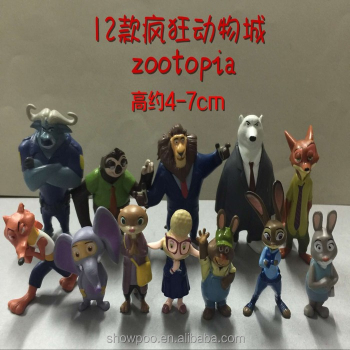 New Style Mini Toy Figure Zootopia Character Anime Figure For Anime products wholesale shop
