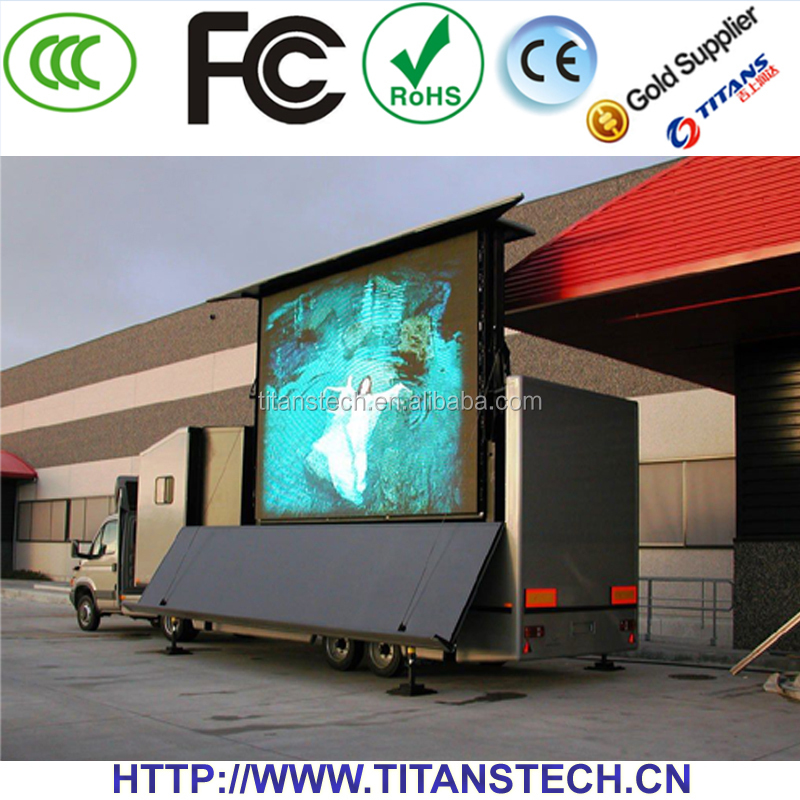 A Variety Of Color Optional 1r1g1b p20mm led screen billboard