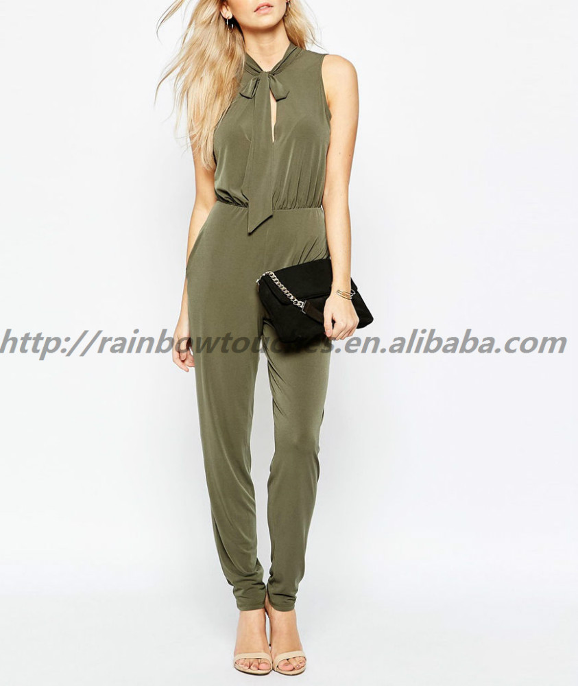 New Design Sleeveless Sexy Fashion Formal 2016 Jumpsuit
