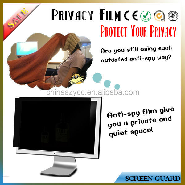 "Manufacture Supply Privacy Anti-spy Screens Protector For Lcd/PC/Desktop/Laptop/Notebook Screen(8'-30"")"