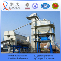 coal burner or oild burner asphalt hot mix plant for road construction