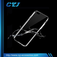 Hot selling crystal ultra thin 0.03cm tpu cell phone case for iPhone5 5s 6 6p 6s