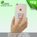 Sublimation 360 Rotating Metal Finger Ring Holder Back Cover holder For Iphone 7 Plus
