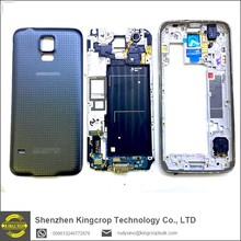 High Quality Middle Frame Plate Bezel Housing Case For Samsung Galaxy S5 SV G900F G900H G900P G900T