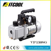2.5CFM mini hand vacuum pump with prssure gauge VP130SG