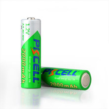 Hotsale nimh rechargeable battery 2000mah 1.2v battery set by CE SGS certification