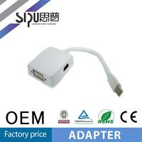 SIPU high quality mini dp to 3 and 1 adapter hdmi to dp converter cable supplier