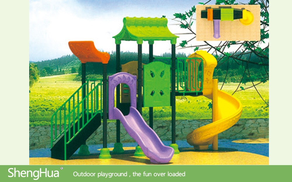 Used Outside Playset Accessories for Children Playground in Nature Style Design