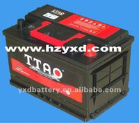 dubai lead acid battery for car