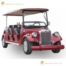 2018 New 8 seater electric classic golf cart bus for sale electric old sightseeing car with CE certificate