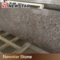 Natural Stone Imported Prefab Tan Brown Granite Kitchen Islands