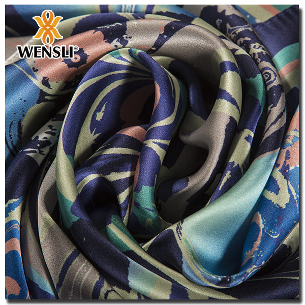 india silk brocade fabrics Wholesale China Merchandise Silk Scarf Latest Styles