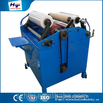 Latest made in China 500mm automatic soap stretch film wrapping machine