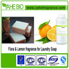 High quality and hot selling flora& lemon fragrance for laundry soap