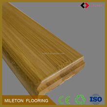 Home Decoration Use 75mm solid bamboo Skirting Board for flooring trim