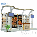 Exhibition equipment display stands trade show exhibit display booth
