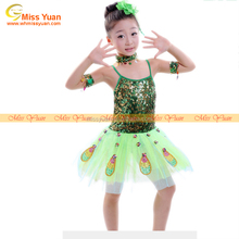 China discount stage kids peacock dance costume