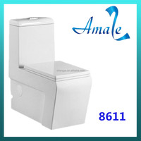 HOT! Sanitary ware Manufacturer of high quality Ceramic Washdown One-Piece Toilet NO.8611 Price Cheap toilet