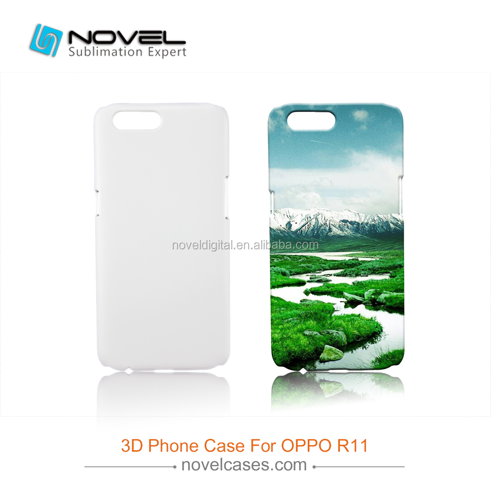 New Arrival Sublimation 3D Custom Design Mobile Phone Case For OPPO R11
