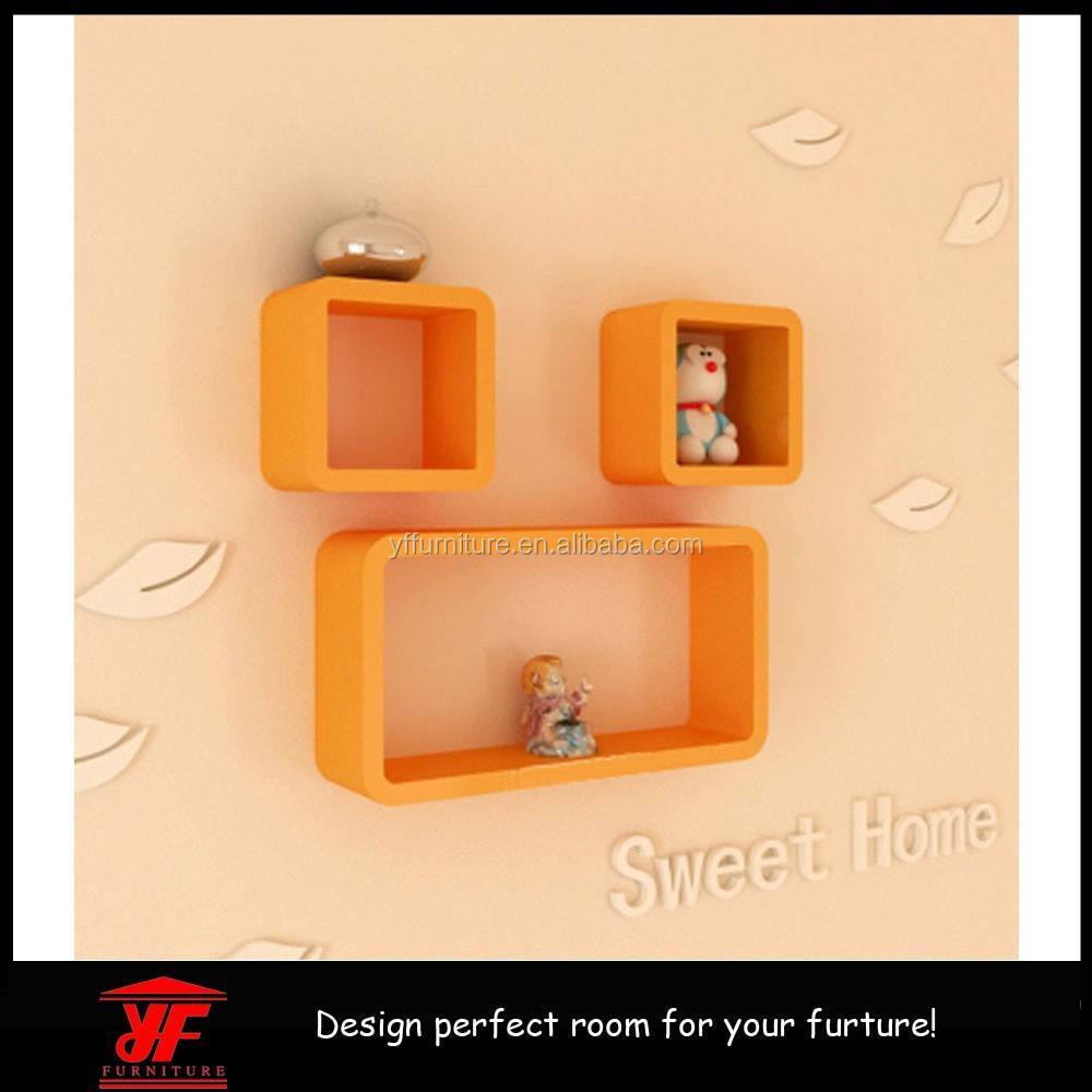 Meubles de maison tag re murale pour lecteur dvd cube tag re murale mur en - Etagere murale pour lecteur dvd ...