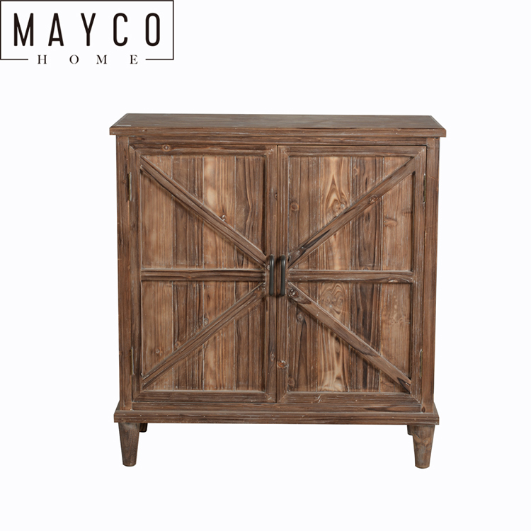 Mayco Wooden <strong>Furniture</strong> <strong>Designs</strong> Farmhouse <strong>Style</strong> Natrual Wood Finish Drawers Storage Cabinet for Living Room