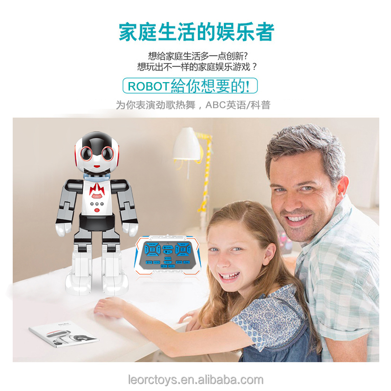 New hot sales r.4Ghz RC intelligent robot MZ robot with palm induction