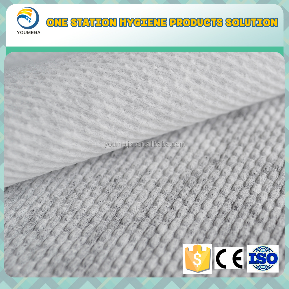 China manufacturer softener hot air through nonwoven fabric