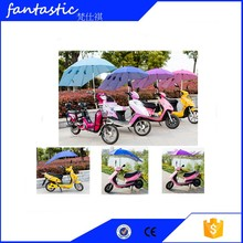 factory price Top quality windproof sunshade umbrella holder bicycle