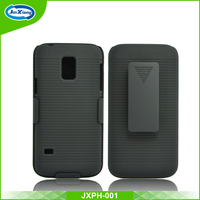 Top grade pc belt clip case for Samsung galaxy s5 mini stand design