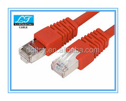 Cat6a sftp RJ45 mod plug wire full copper jumper connection cable
