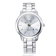 2017 new arrival Fashion stainless steel chain high - end luxury gypsum diamond Simple watches for women wholesales
