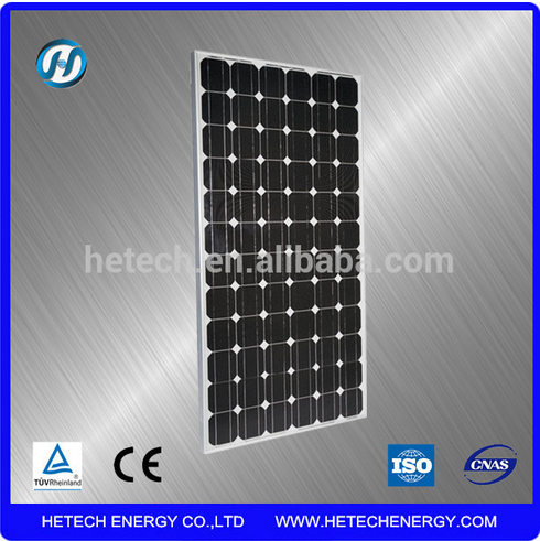 solar power module 200 w 12v from china with mono crystalline silicon for home use