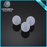 "1.3"" Clear Plastic Hollow Balls"