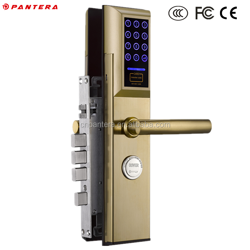 Supply Different Kinds of Digital Fingerprint Smart Card Door Lock
