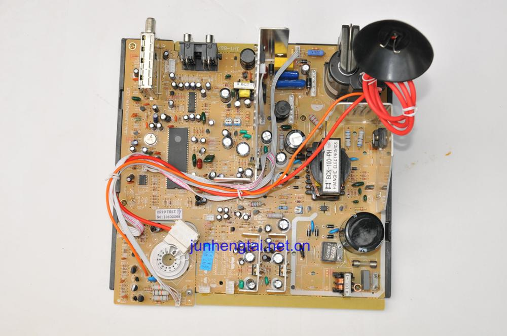 cheap CRT color TV mainboard TV core part size 25''-29''
